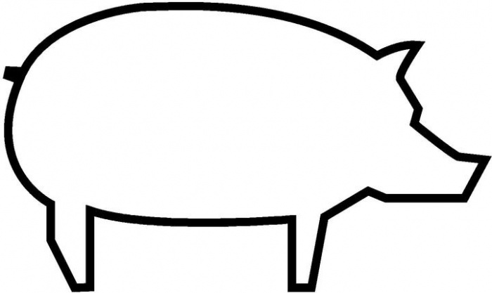 pig template for preschoolers pig template for preschoolers clipart best template preschoolers for pig 1 1