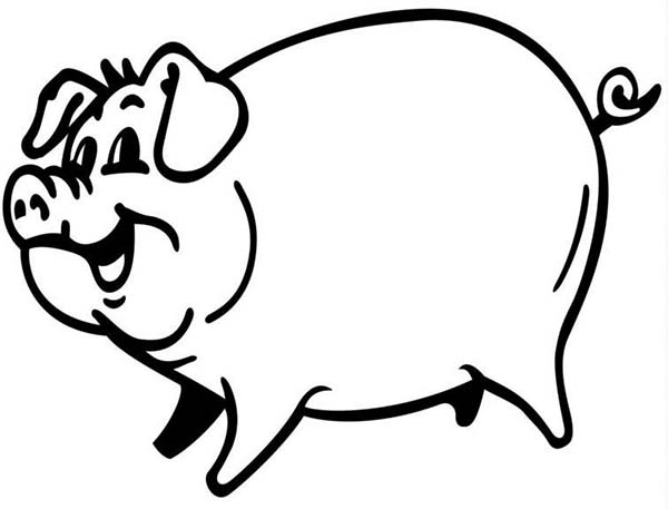 pig to colour pig coloring page twisty noodle pig colour to