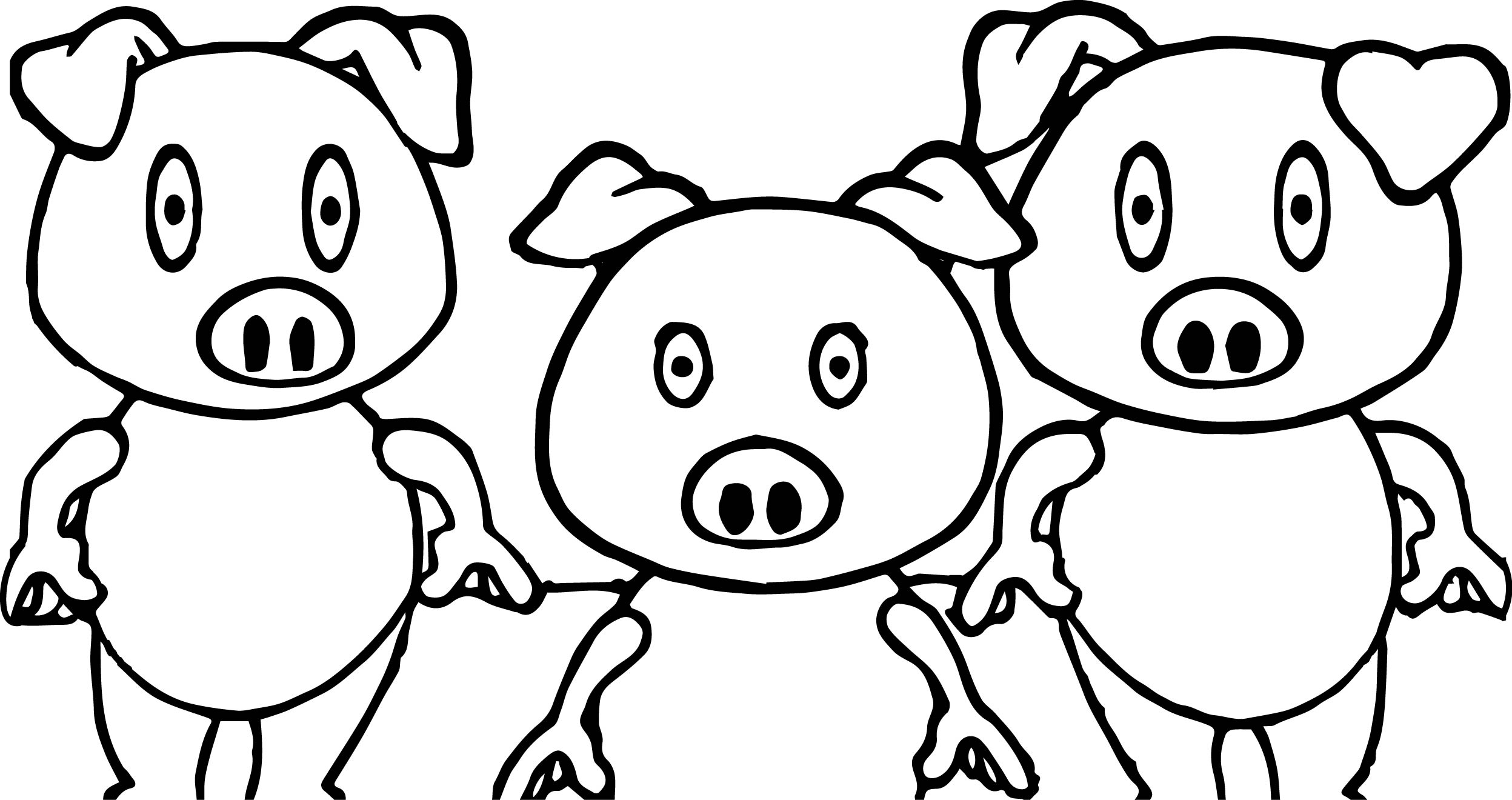 pig to colour pig coloring pages the sun flower pages pig to colour