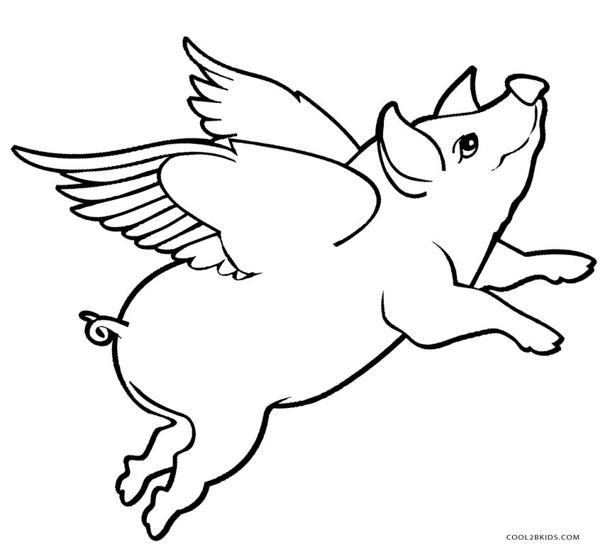 pig to colour printable pig coloring pages for children to colour pig