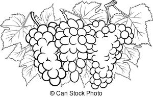 pink food coloring photoblack and white cartoon illustration of bunch of coloring pink food