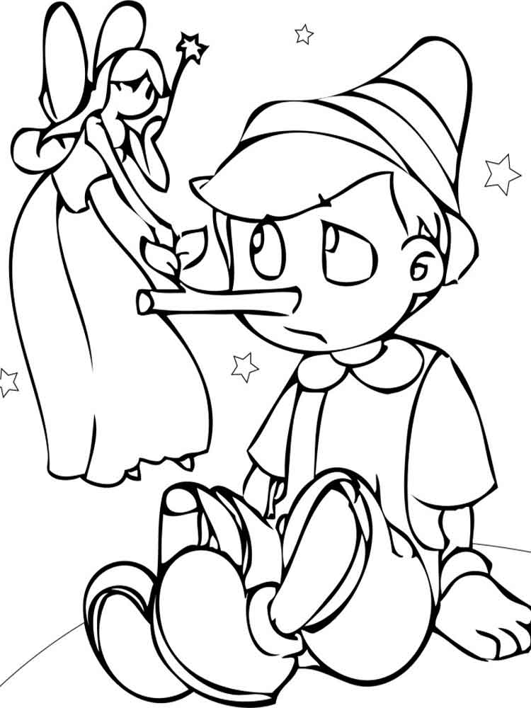 pinocchio coloring pinocchio colorare pinocchio coloring 1 2