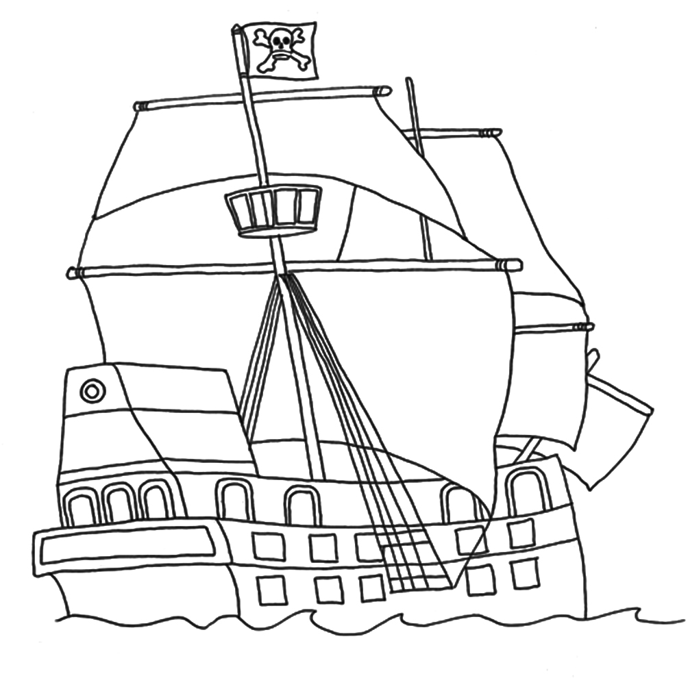 pirate ship printable pirate coloring pages ship printable pirate
