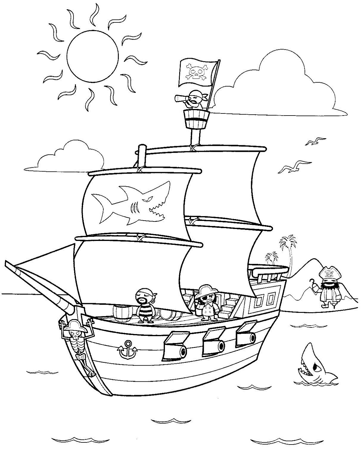 pirate ship printable pirate ship pictures for kids activity shelter pirate printable ship