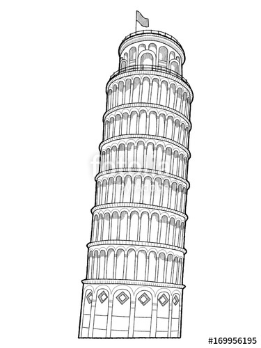 pisa tower drawing bell tower pisa sketch by niciasgyrfalcon on deviantart drawing pisa tower