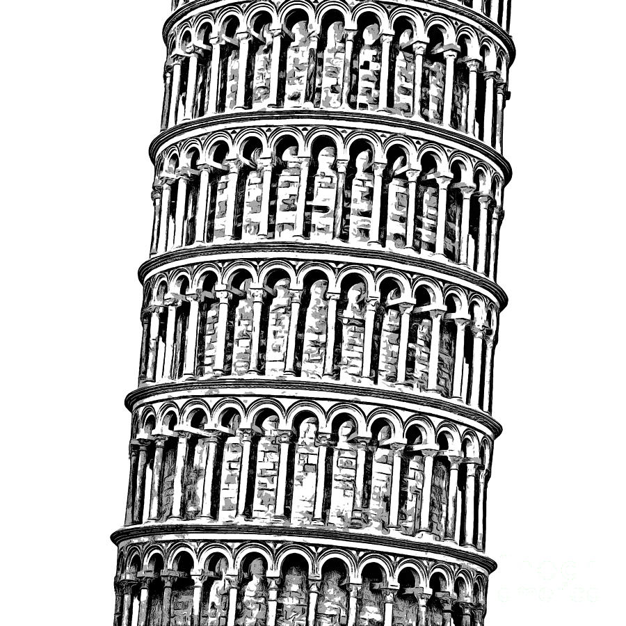 pisa tower drawing how to draw the leaning tower of pisa step by step pisa tower drawing