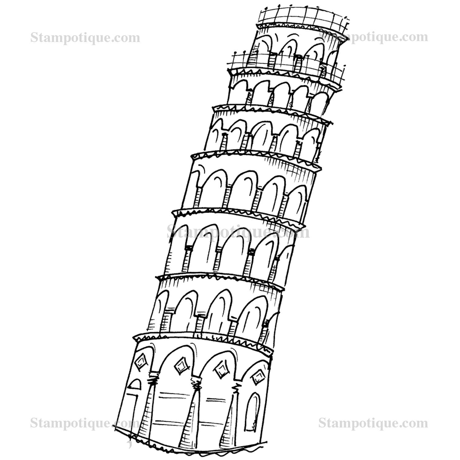 pisa tower drawing leaning tower of pisa drawing free download on clipartmag drawing tower pisa