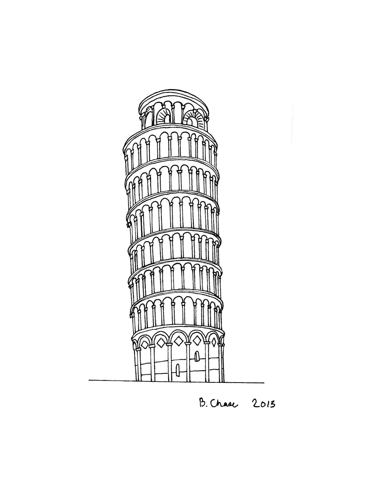 pisa tower drawing learn how to draw leaning tower of pisa world heritage tower pisa drawing