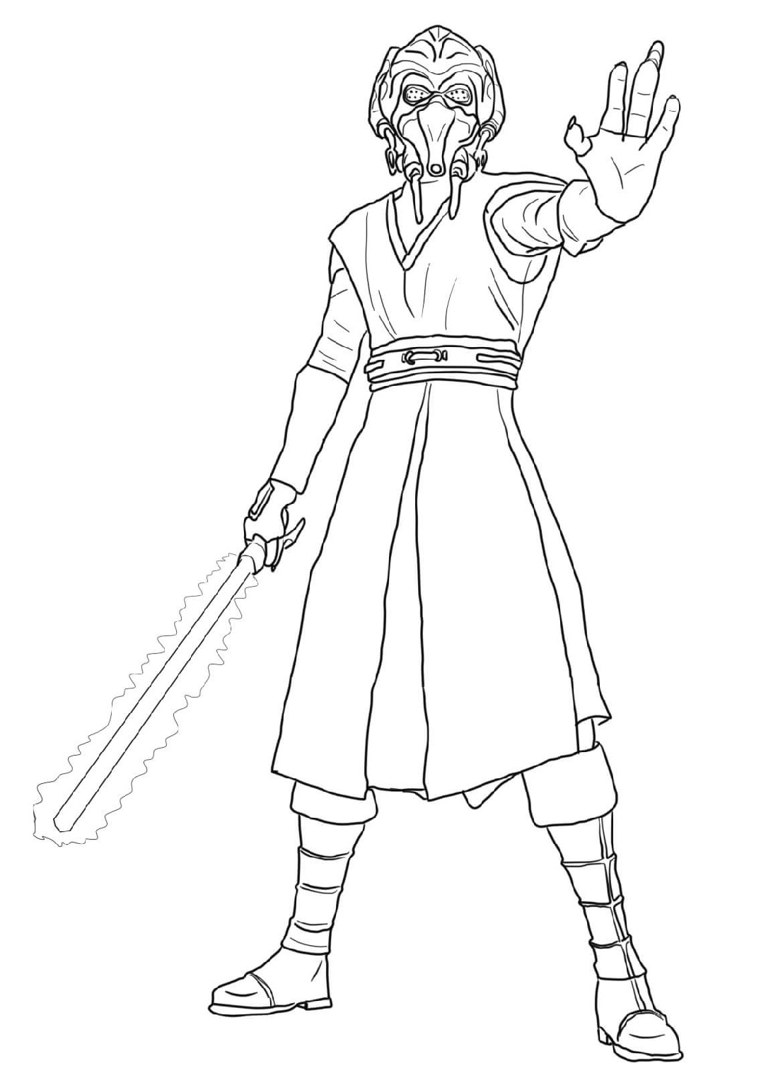 plo koon coloring pages plo koon super coloring lineart star wars pinterest coloring pages koon plo