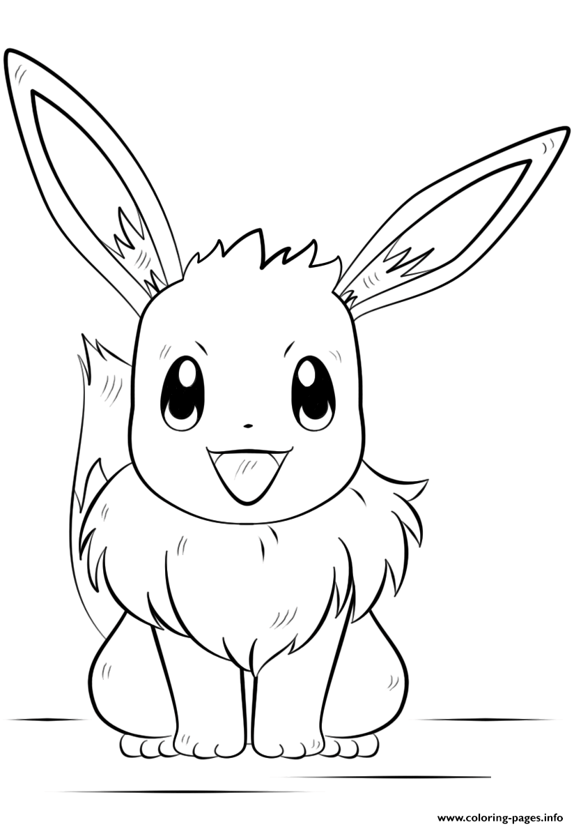 pokemon coloring pages eevee eevee coloring pages at getdrawings free download pages eevee pokemon coloring