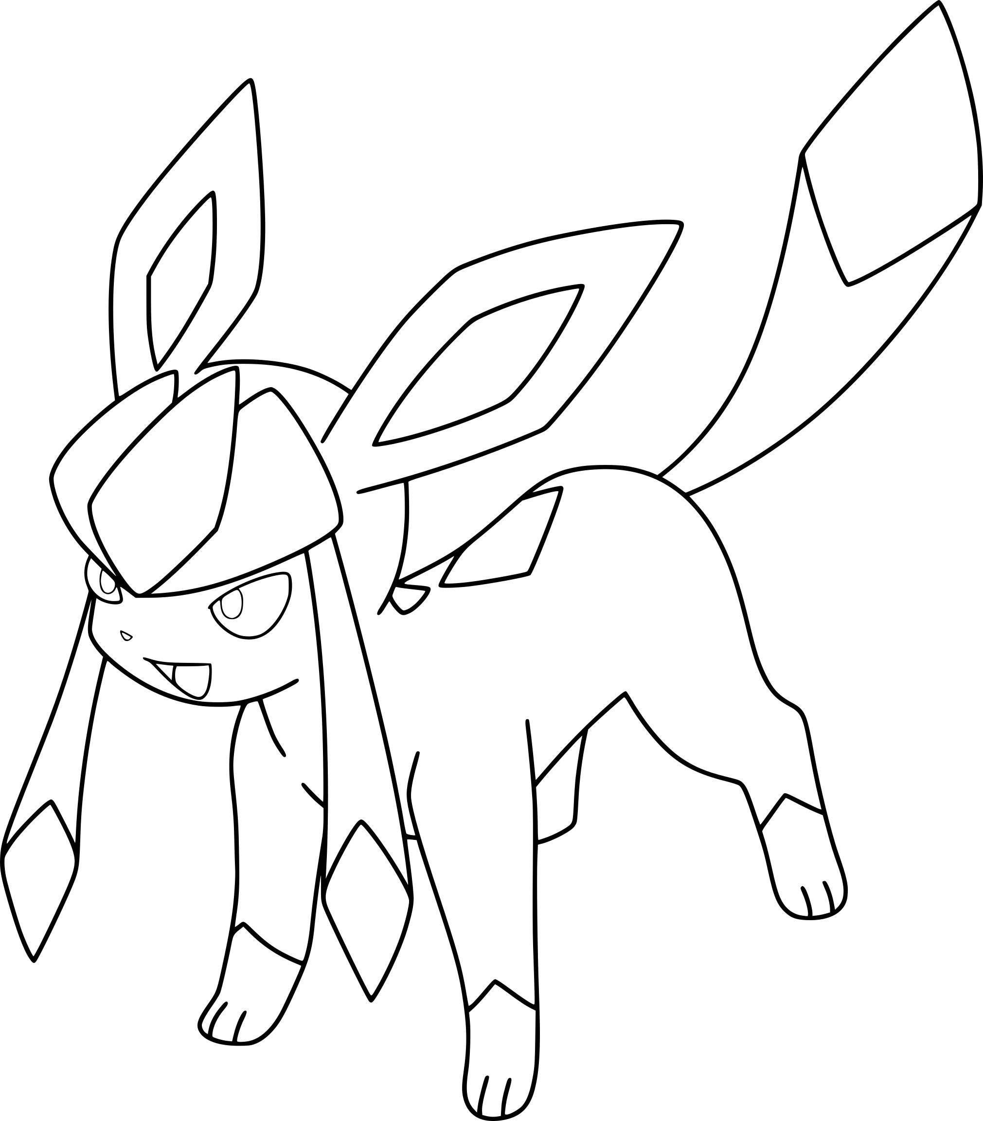 pokemon coloring pages eevee eevee from pokemon coloring home coloring pages pokemon eevee