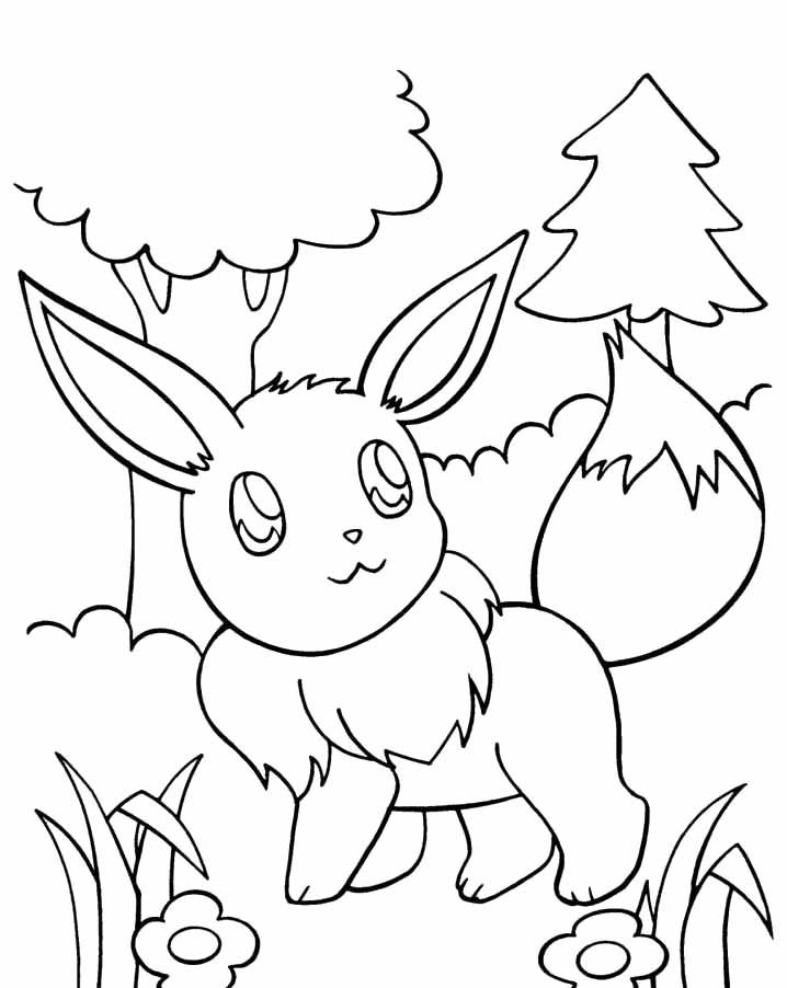 pokemon coloring pages eevee pokemon coloring pages eevee evolutions coloring home coloring eevee pages pokemon