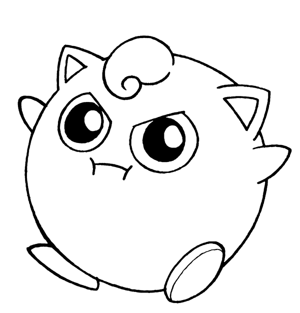 pokemon coloring pages jigglypuff awesome pokemon jigglypuff picture coloring page coloring pokemon jigglypuff pages