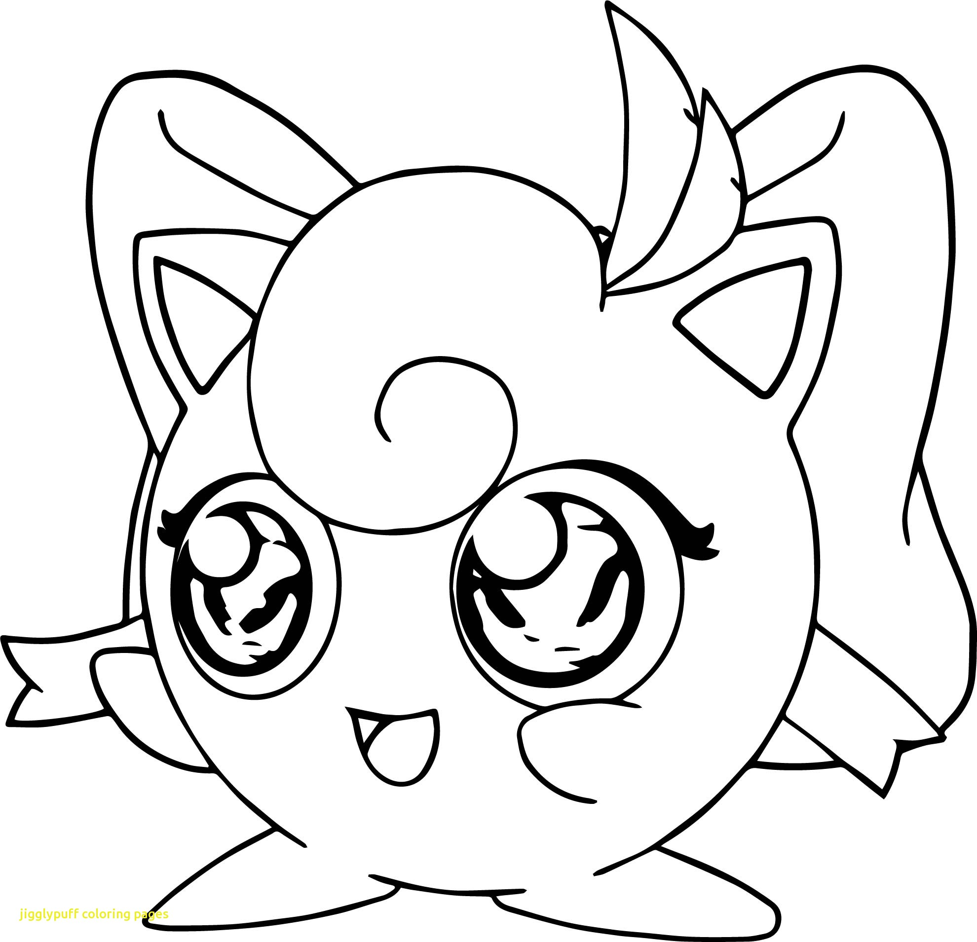 Pokemon coloring pages jigglypuff
