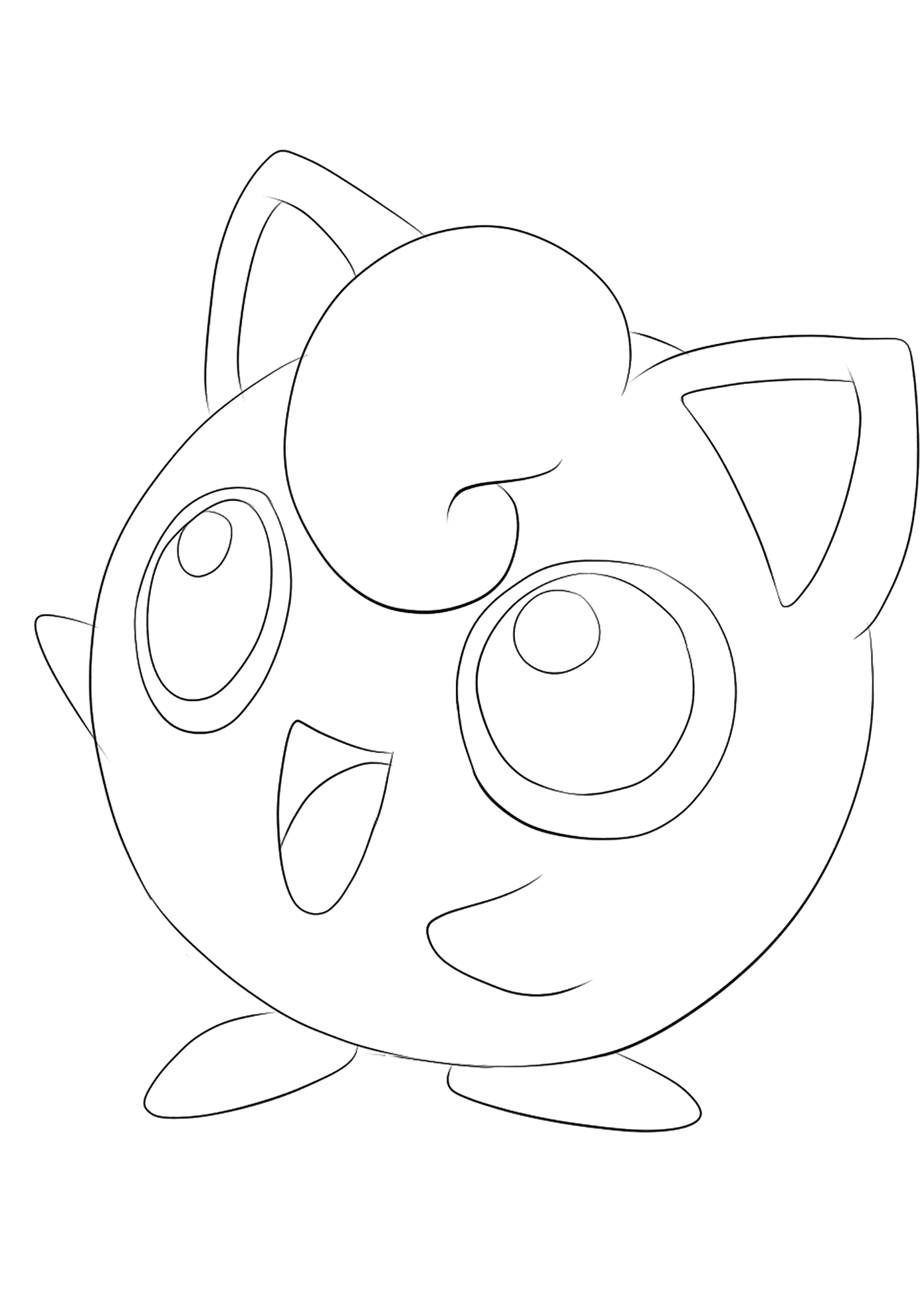 pokemon coloring pages jigglypuff jigglypuff coloring pages getcoloringpagescom jigglypuff coloring pokemon pages