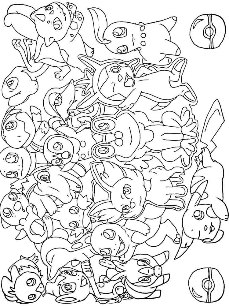 pokemon coloring pages pokemon pictures coloring pages at getcoloringscom free coloring pokemon pages