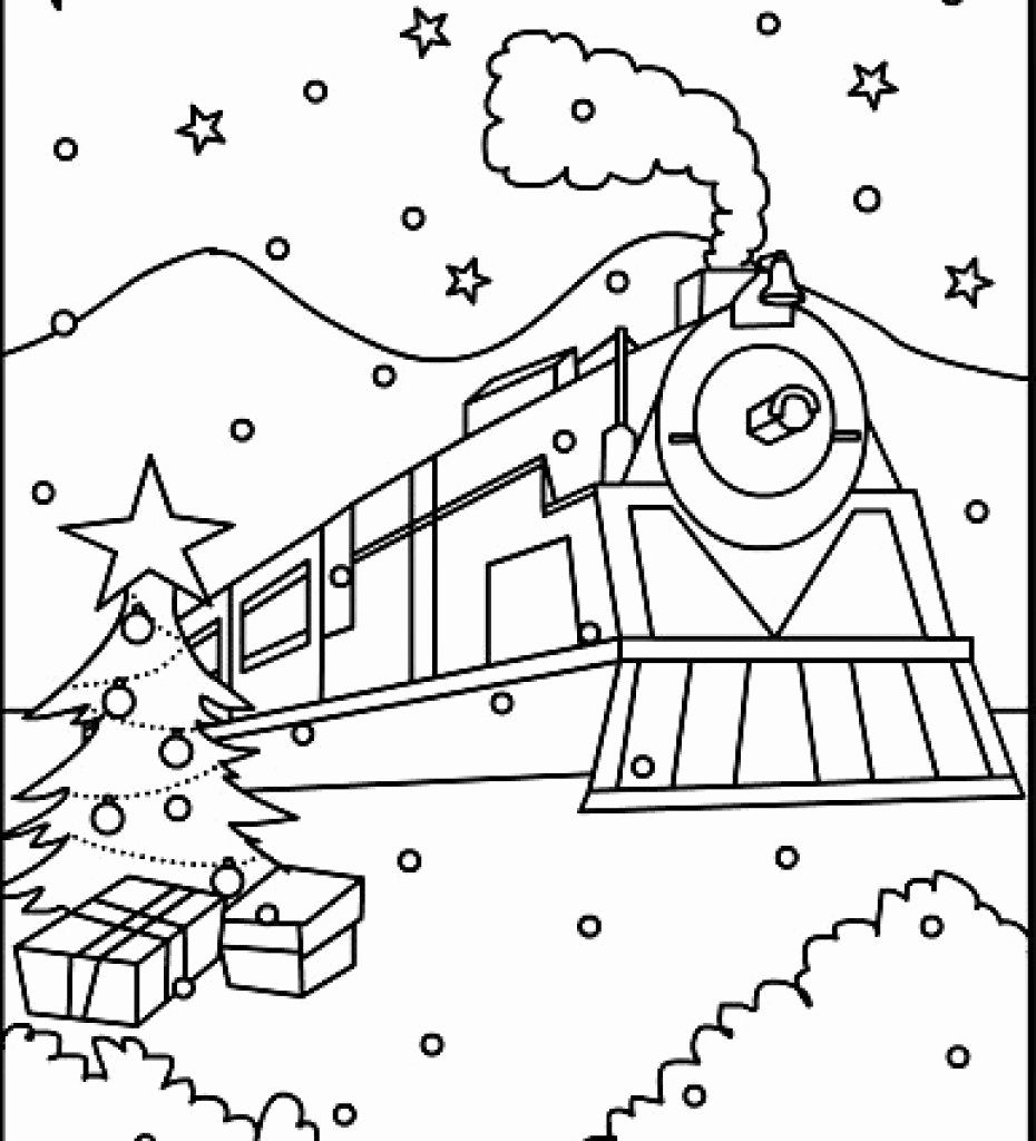 polar express train coloring pages train ticket page coloring pages express train coloring polar pages