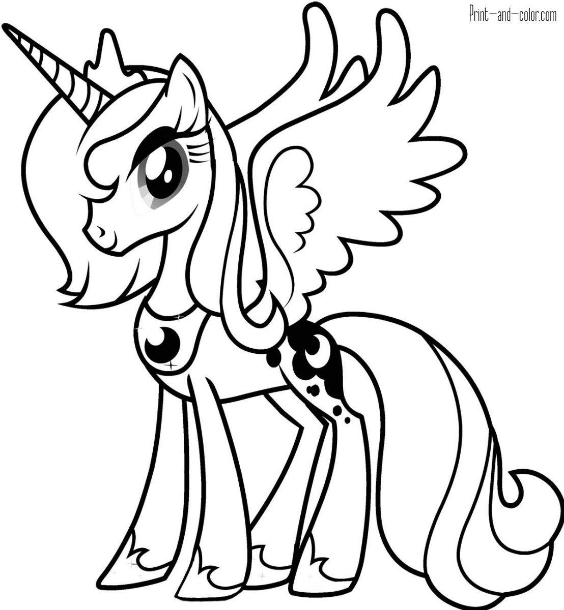 pony for coloring my little pony coloring pages for girls print for free or pony coloring for