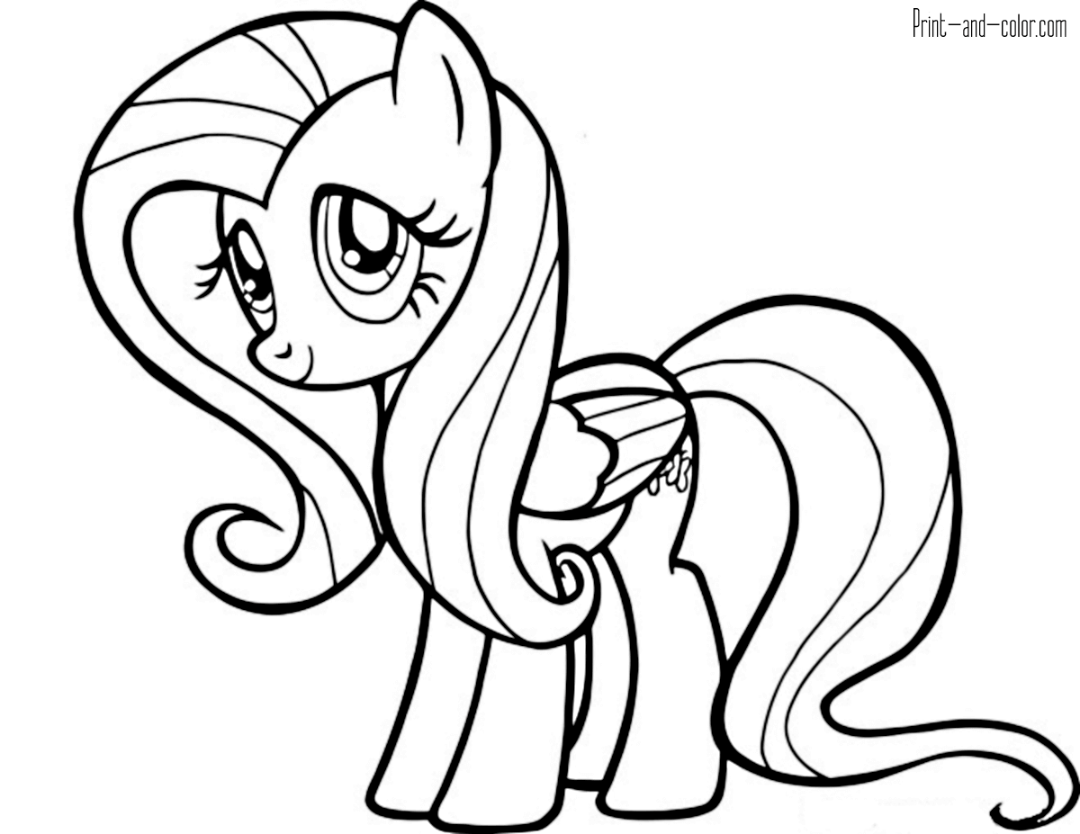 pony for coloring my little pony coloring pages print and colorcom coloring pony for