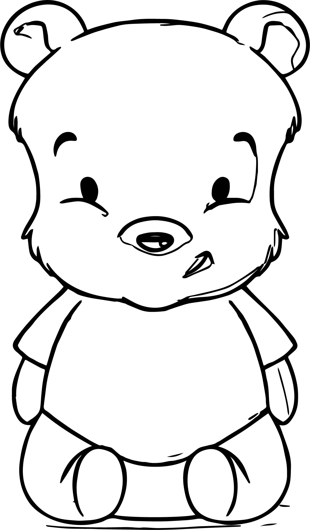 pooh bear coloring page how to draw baby pooh coloring page wecoloringpagecom page bear coloring pooh