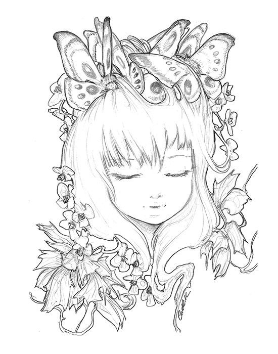 pop manga coloring pages ink work camilla d39errico manga pages coloring pop