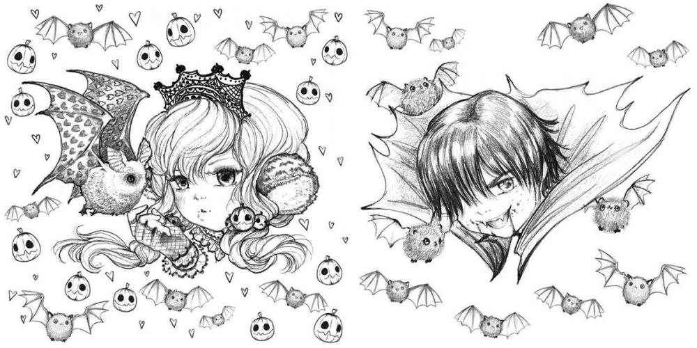 pop manga coloring pages ink work camilla d39errico pages manga pop coloring