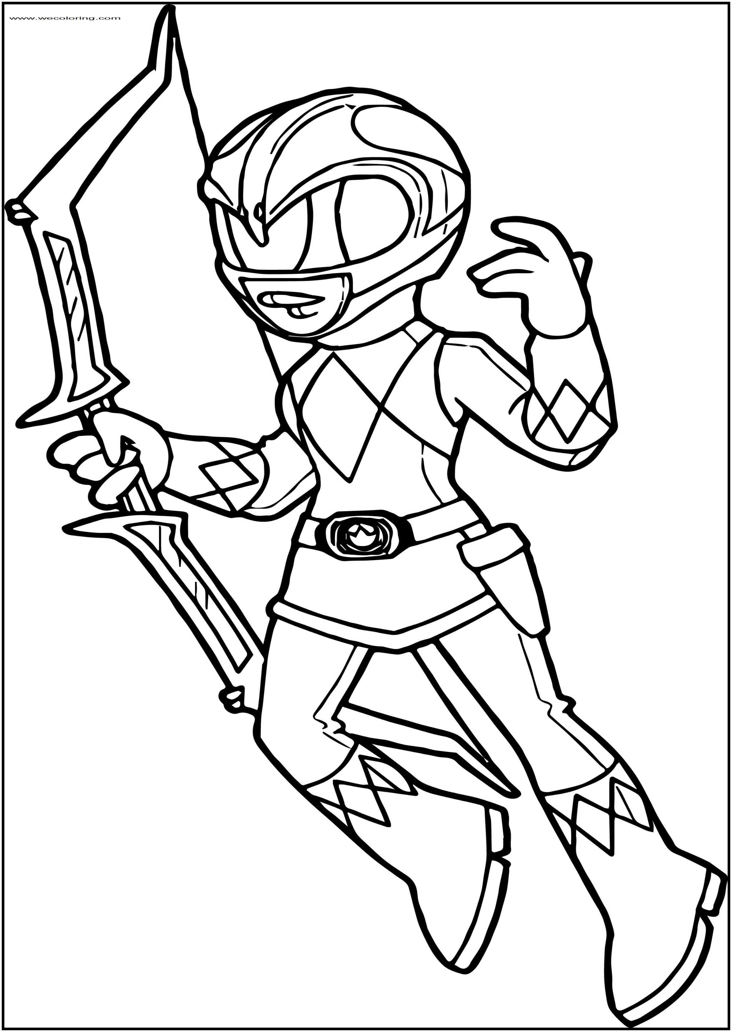 power ranger coloring pages free power rangers pink ranger free printable coloring page ranger free power coloring pages