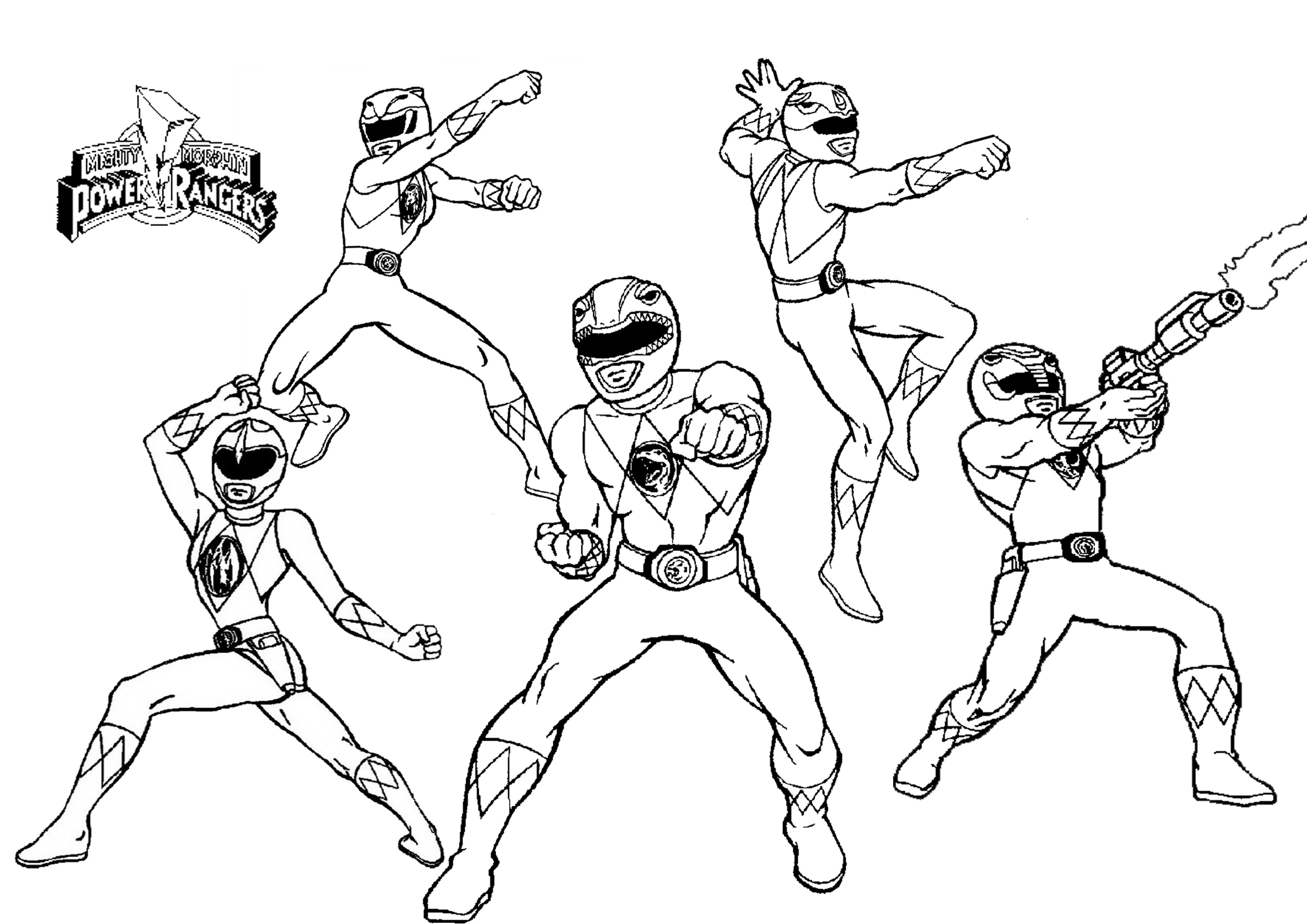 power ranger coloring pages free power rangers to print for free power rangers kids ranger coloring free pages power