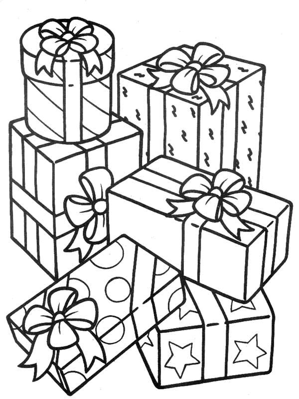 present coloring pages coloring pages christmas presents gtgt disney coloring pages present coloring pages