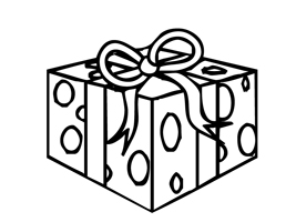 present coloring pages craftsactvities and worksheets for preschooltoddler and pages coloring present