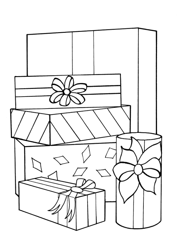 present coloring pages free christmas ornament coloring page tgif this present pages coloring