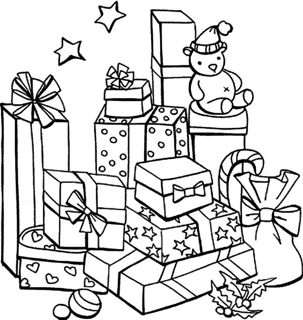 present coloring pages jolly christmas coloring pages christmas toys free pages coloring present