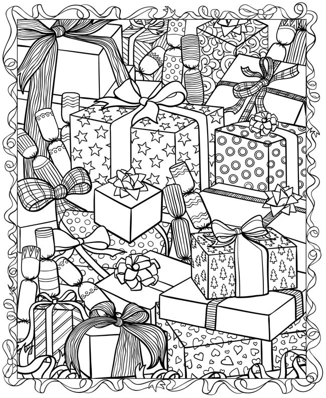 present coloring pages present box coloring pages at getcoloringscom free pages coloring present