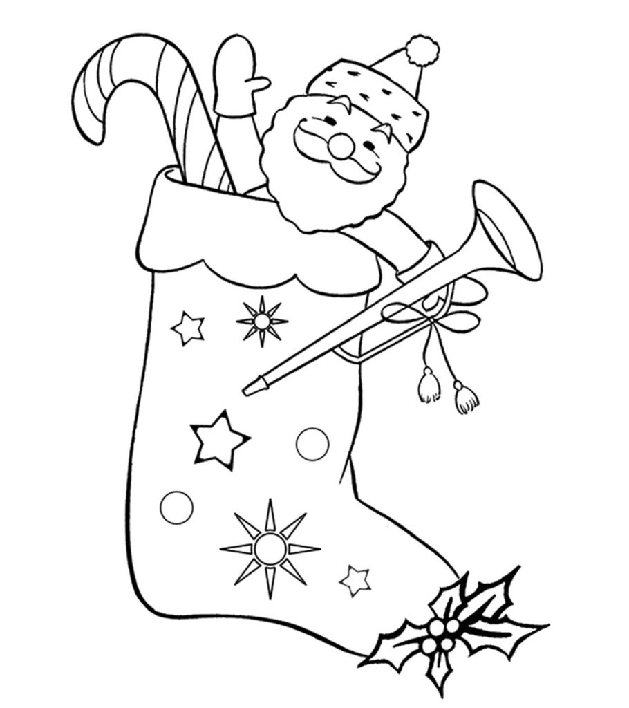 present coloring pages top 25 free printable christmas stocking coloring pages online coloring pages present