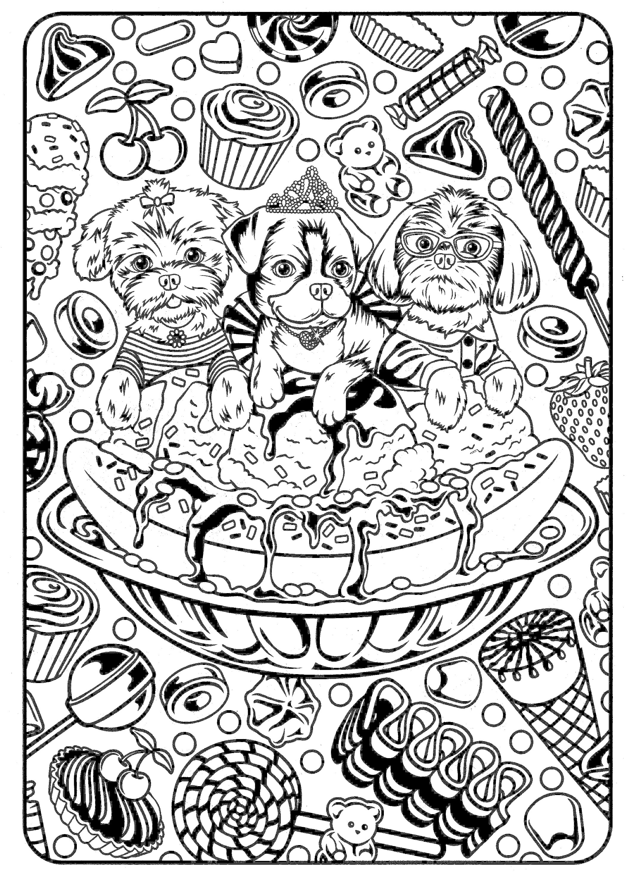 pretty pictures to color printable coloring page girl portrait and clothes pretty color to pictures