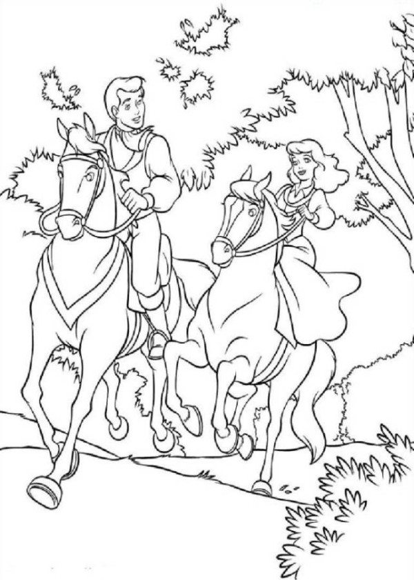 princess riding a horse coloring pages girl riding horse drawing at getdrawings free download pages princess coloring riding a horse