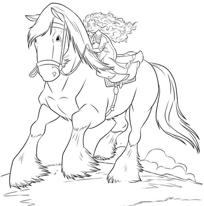 princess riding a horse coloring pages princess merida was a trip up horses coloring pages riding pages a coloring horse princess