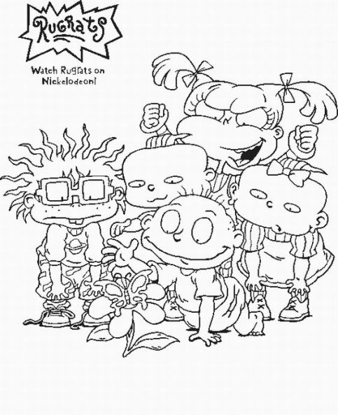 printable 90s cartoon coloring pages pin on coloring pages printable cartoon pages 90s coloring