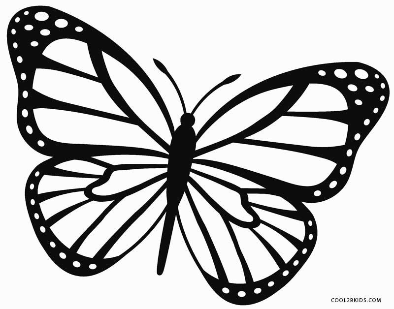 printable butterflies butterfly coloring pages learn to coloring printable butterflies