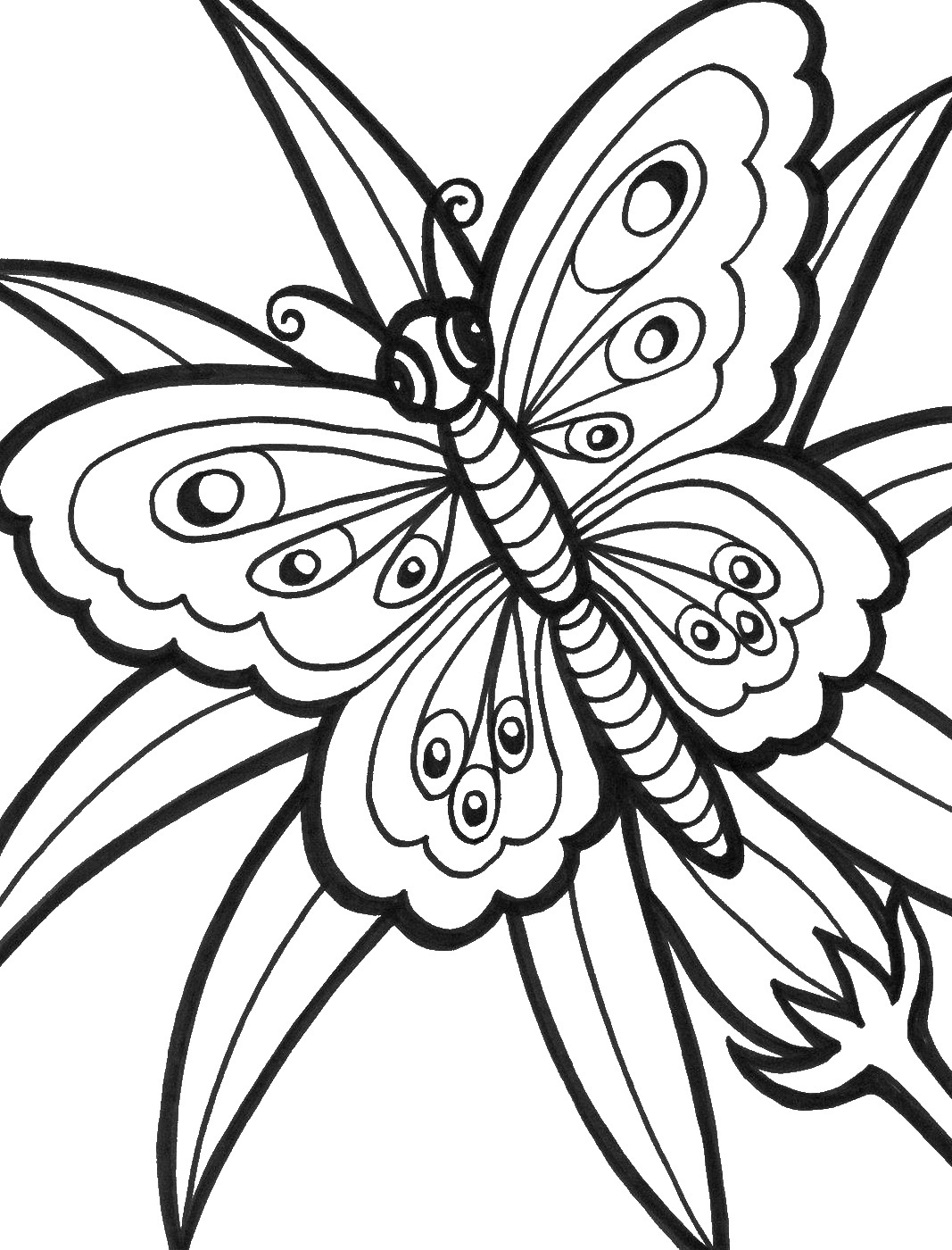printable butterflies butterfly coloring printables for kids butterflies printable