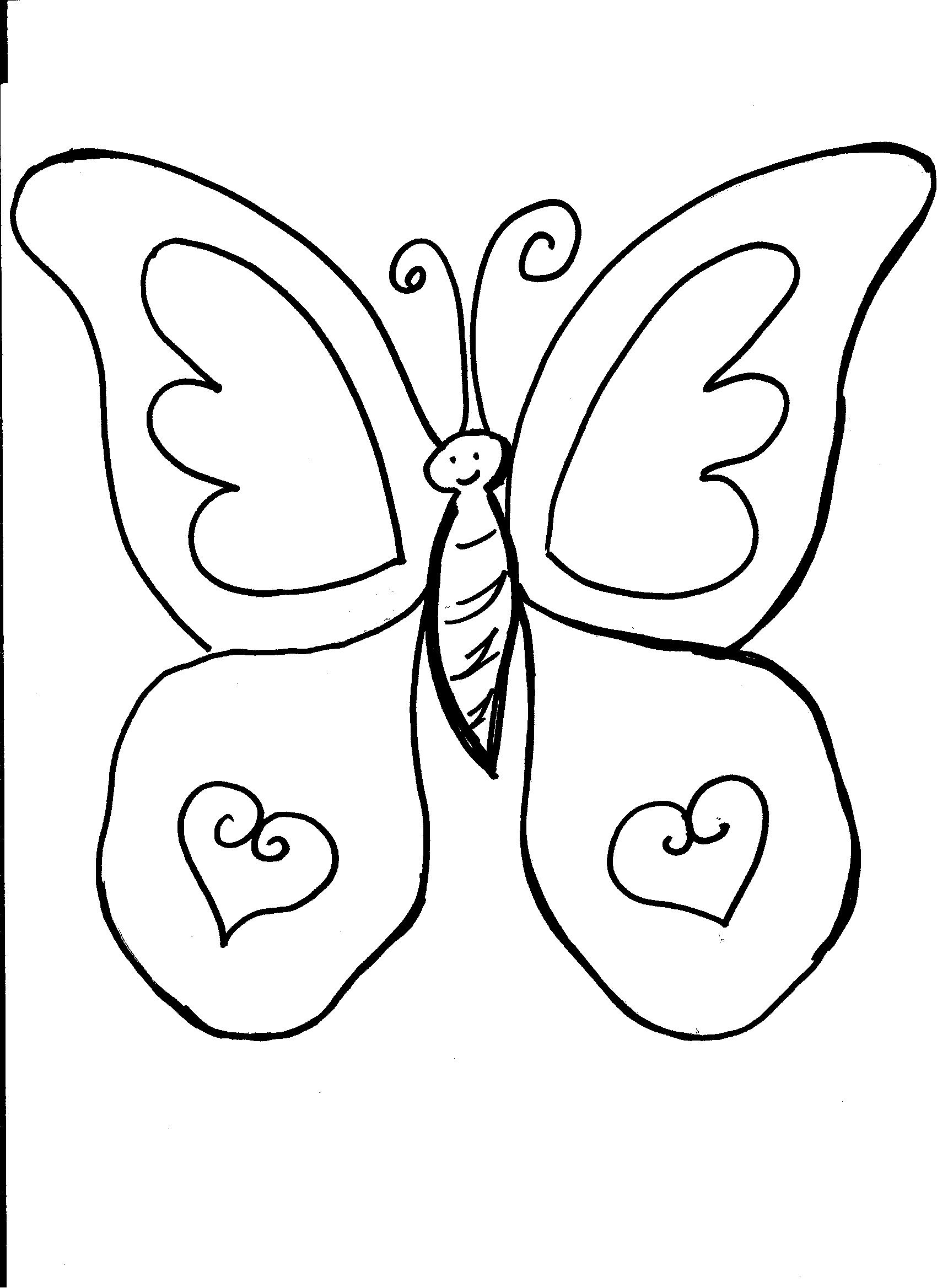 printable butterfly coloring page cute butterfly coloring pages getcoloringpagescom printable coloring page butterfly