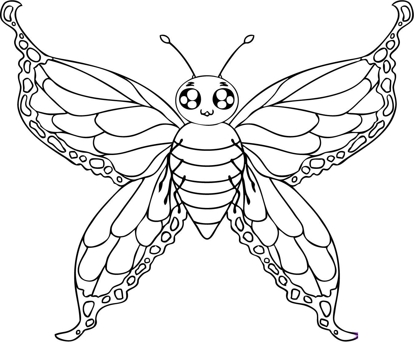 printable butterfly coloring page free printable butterfly coloring pages for kids coloring printable page butterfly