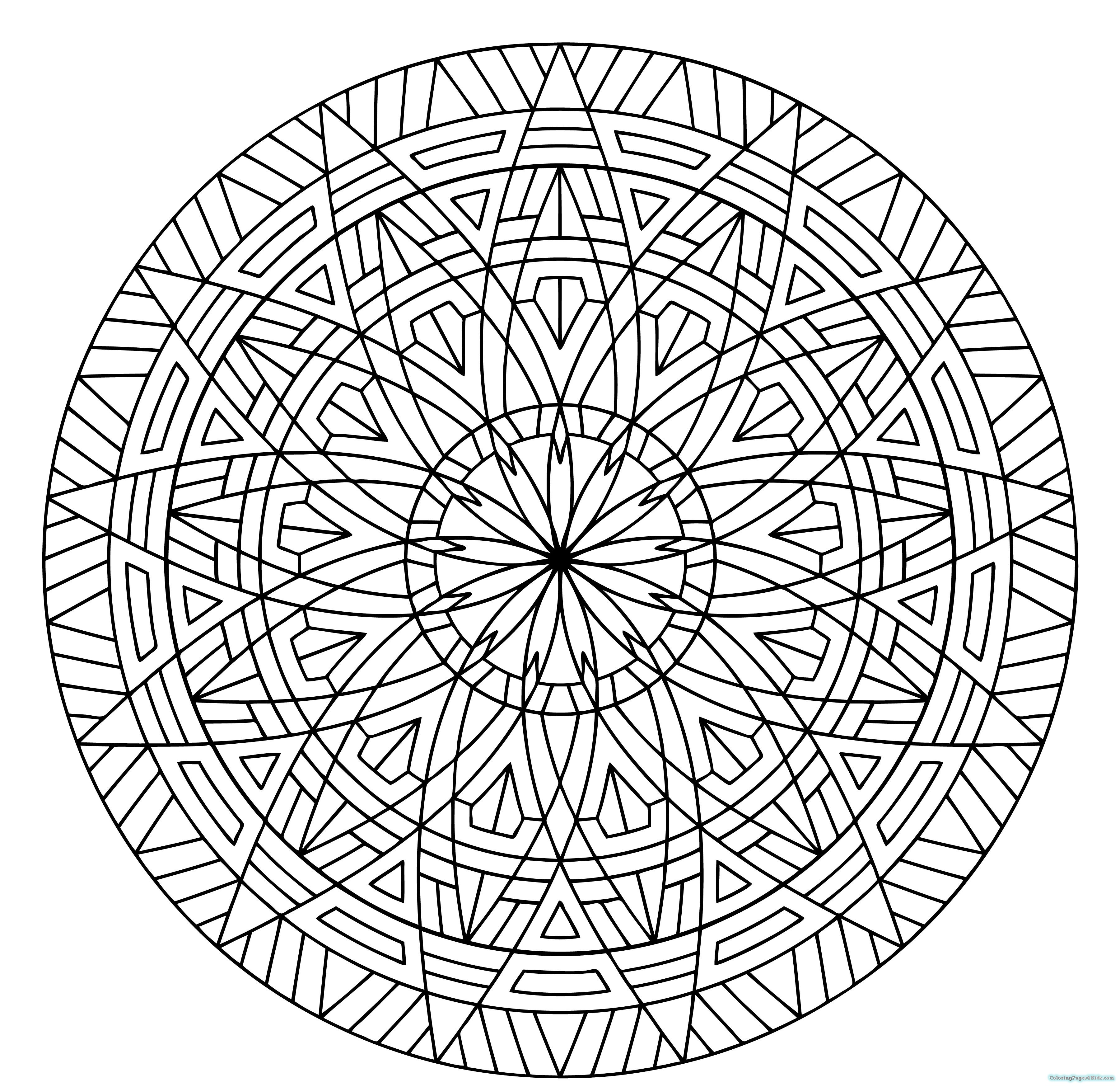 printable coloring designs cool geometric design coloring pages getcoloringpagescom designs printable coloring