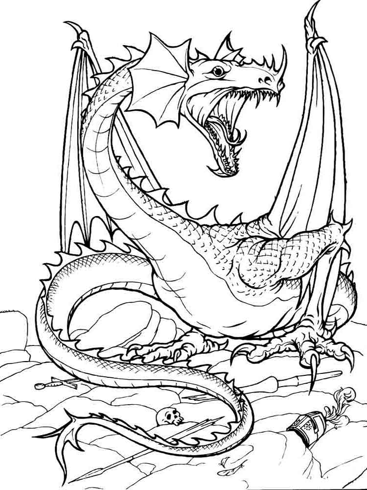 printable dragons color the dragon coloring pages in websites dragons printable 1 1