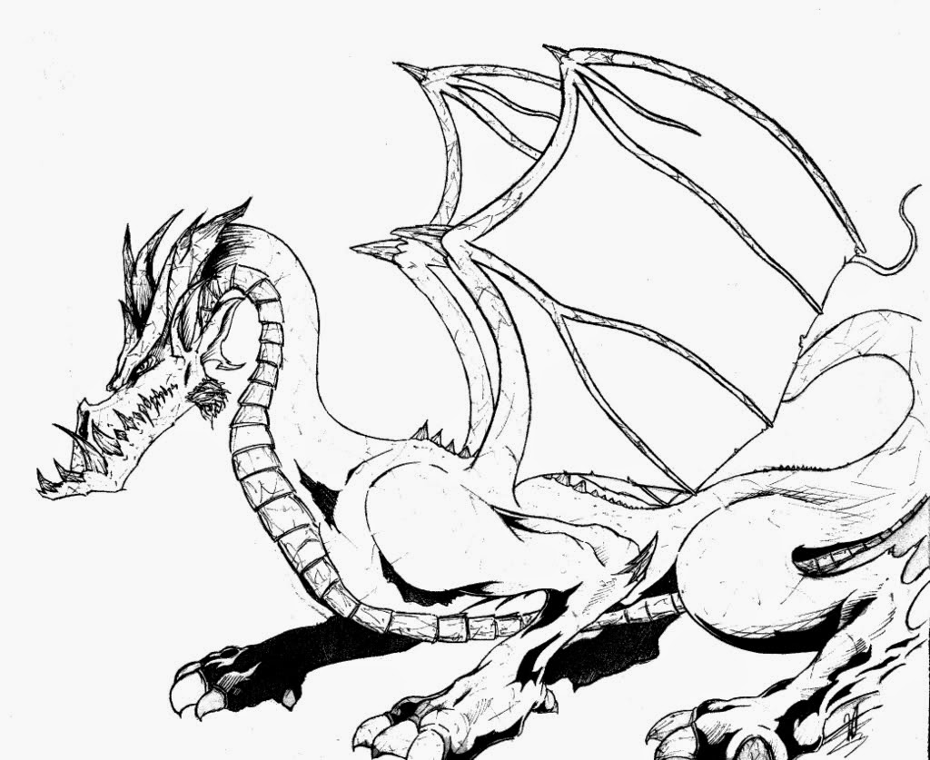printable dragons dragon coloring pages for adults to download and print for printable dragons