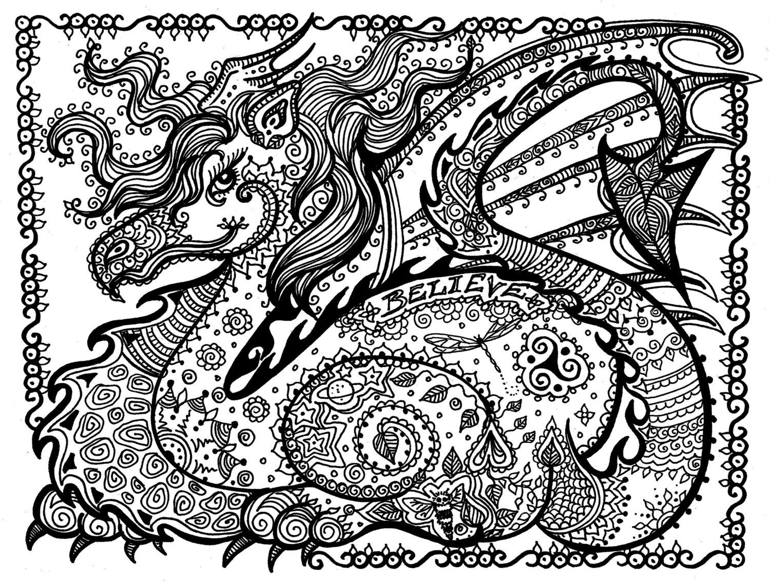 printable dragons free dragon coloring pages for adults printable to dragons printable