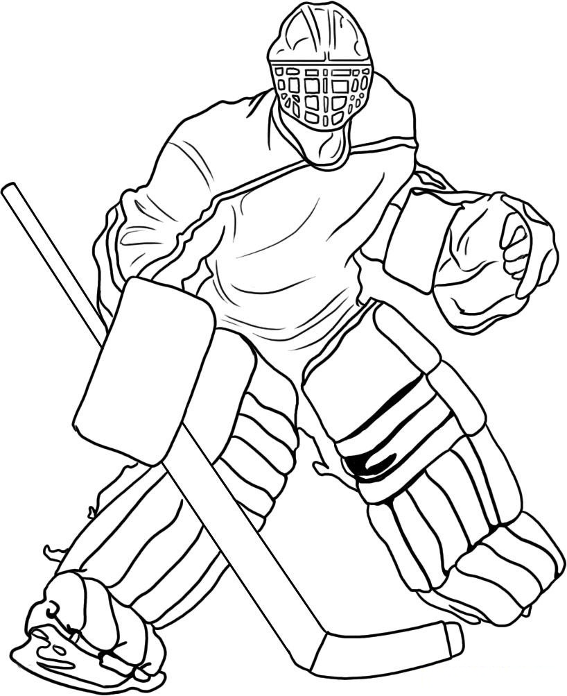 printable hockey coloring pages hockey player coloring pages to download and print for free printable pages coloring hockey