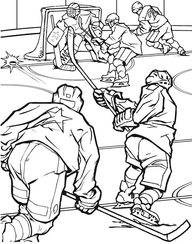 printable hockey coloring pages hockey team match in field hockey coloring page sports printable hockey pages coloring