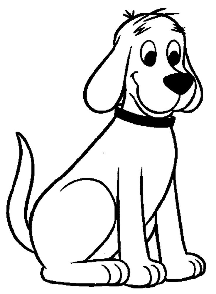 printable picture of a dog dalmatian dog coloring page at getcoloringscom free picture a dog of printable