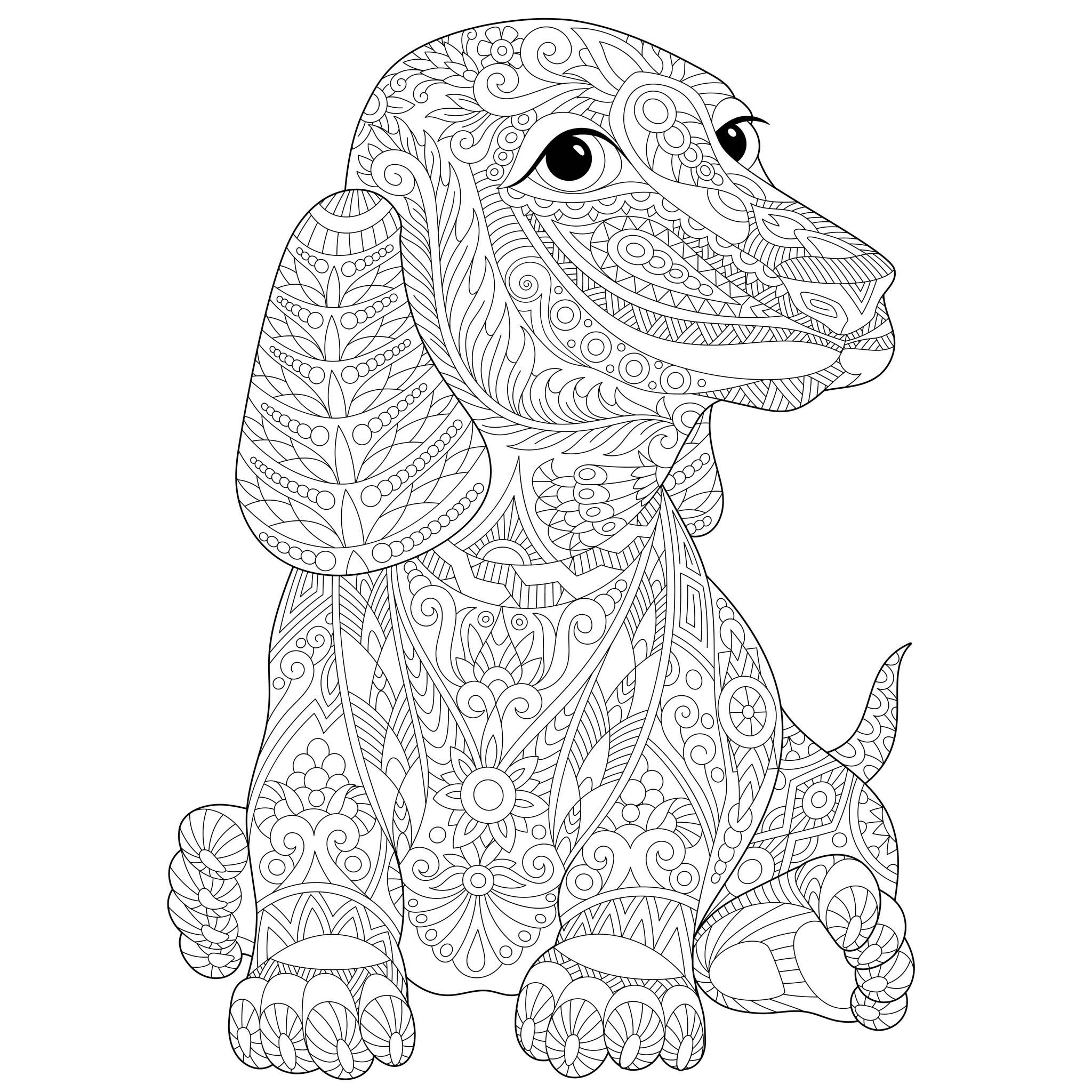 printable picture of a dog dog template animal templates free premium templates a picture printable dog of